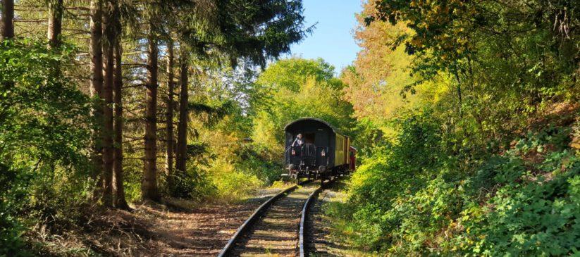 Impression einer Zugfahrt, Foto: Uwe Hennings