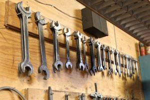 Details unserer Werkstatt, Foto: Kai Froböse