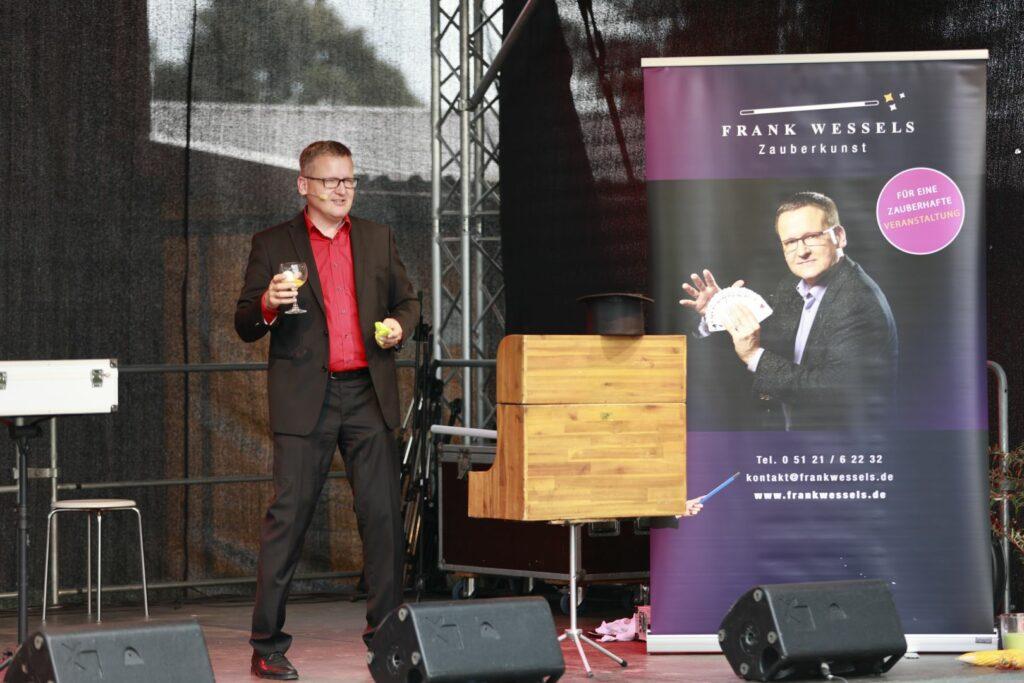 Frank Wessels verzaubert sein Publikum